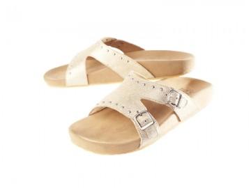 รองเท้าสุขภาพ Klas & Sylph รุ่น Emily สีทองกลิตเตอร์