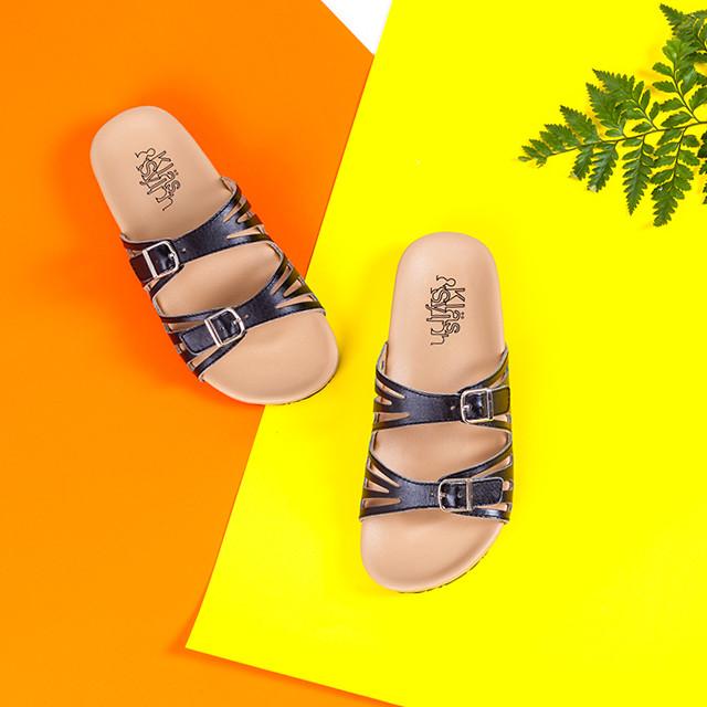 รองเท้าสุขภาพ Klas & Sylph รุ่น Stella สีดำ (mobile)