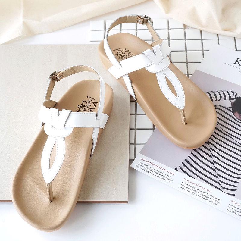 รองเท้าแตะเพื่อสุขภาพ Klas & Sylph รุ่น Athena สีขาว
